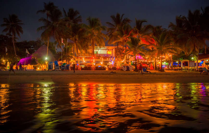 soirée à Punta Cana
